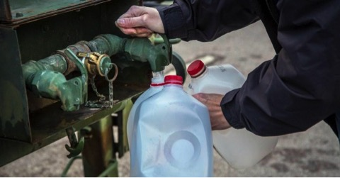 Acqua contaminata